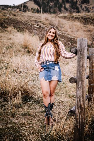 McCall Idaho Senior Portrait