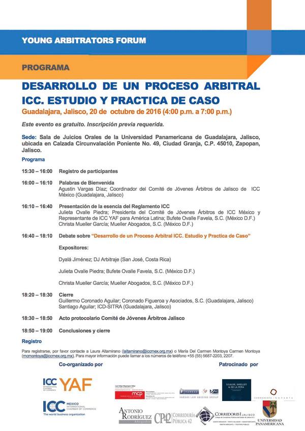 DESARROLLO DE UN PROCESO ARBITRAL ICC. ESTUDIO Y PRACTICA DE CASO