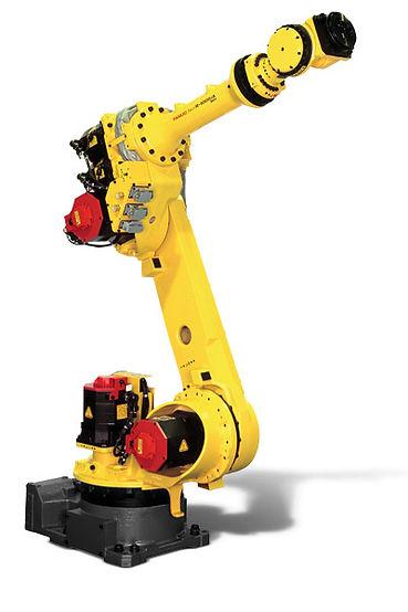 Rebarbação com robo