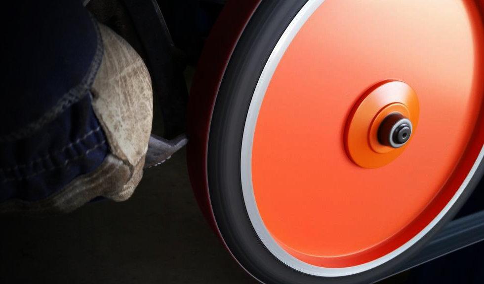 Roda de contato para lixadeira