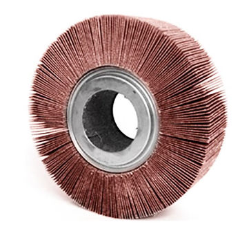 roda de lixa flap