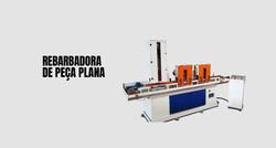 rebarbação automática em peças fundidas e microfundidas de face plana