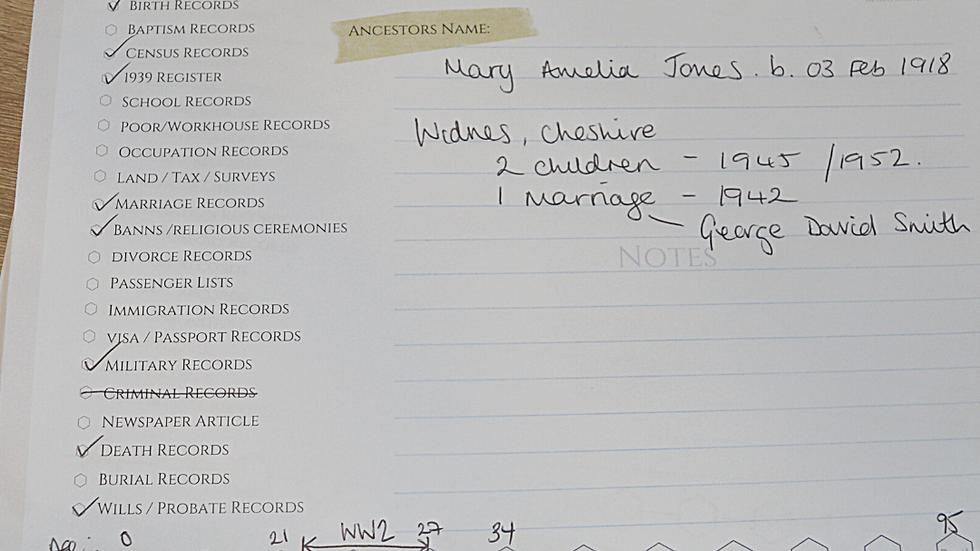 Family Tree Stationary | Ancestry Notepad | Genealogy Aids