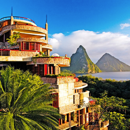 Jade Moutain the Gem of St. Lucia