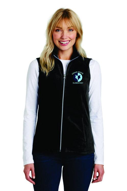 Ladies Fleece Vest