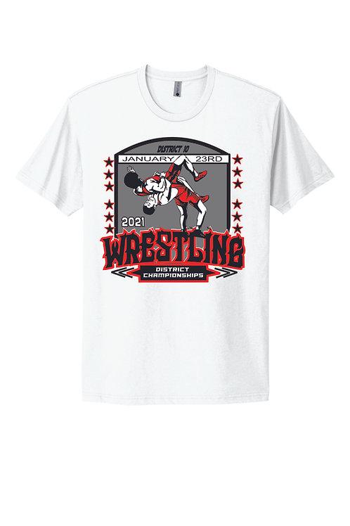 Distict Tournament Shirt Wrestling 2021