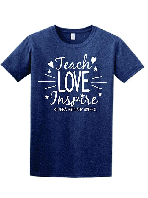 Teach Love Softstyle Tshirt