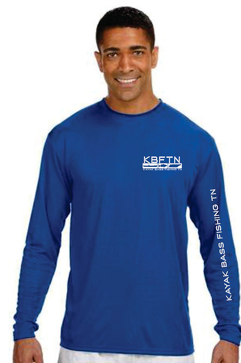 Blue A4 Long Sleeve Tshirt