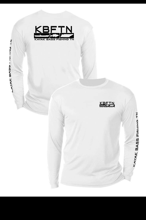 White A4 Long Sleeve Shirt