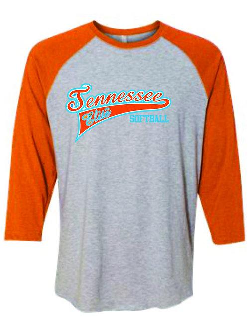 TE-Adult Baseball Fine Jersey Tee - 6930