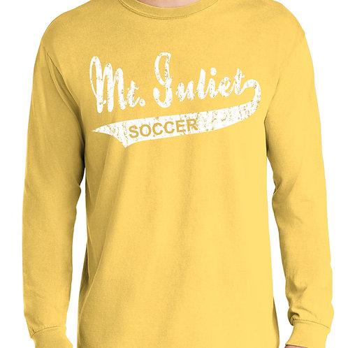 Comfort Colors Brand Distressed Tshirt