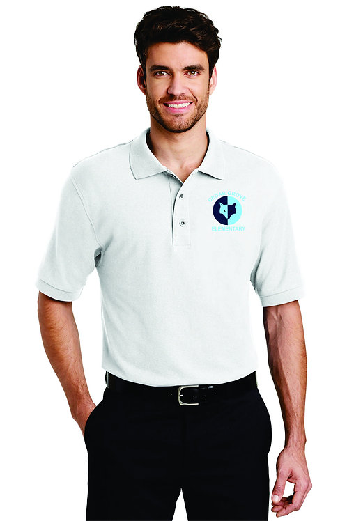 Mens Silk Touch Polo