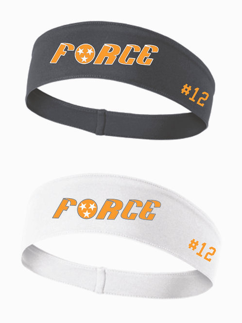 Headband with Player Number