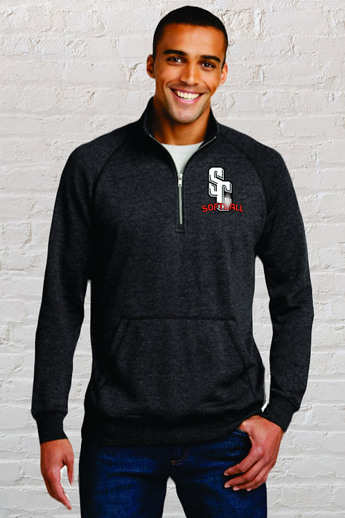 Quarter Zip Embroidered DM392
