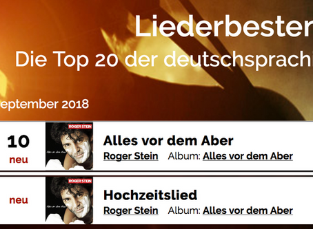 Liederbestenliste September 2018