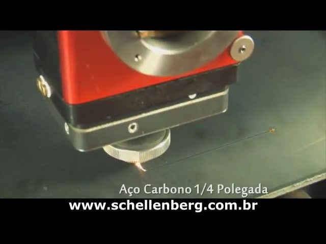 Vídeo 1 - Laser 2000X1500P 1000W - Aço Flex