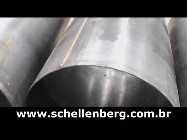 Vídeo 1 - Máquina para Solda Longitudinal de Tubos