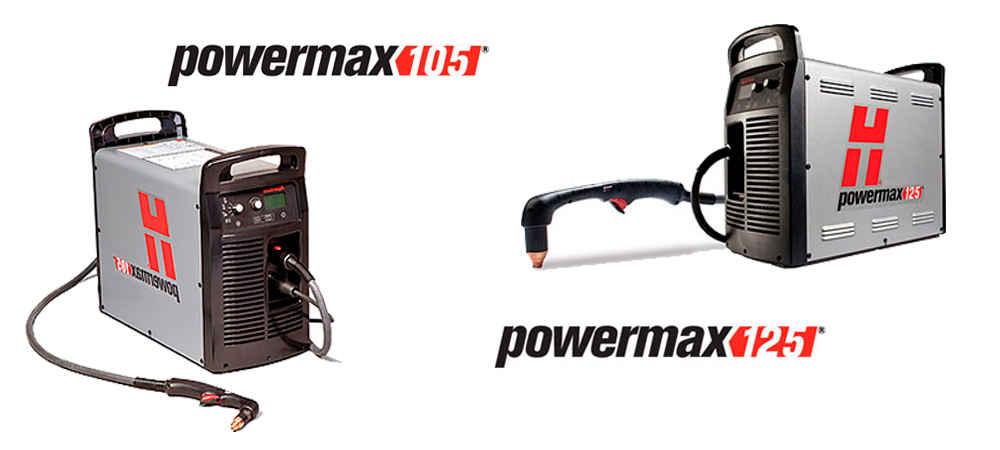 Fontes PowerMax 105 e PowerMax 125