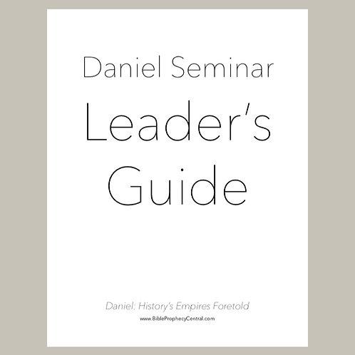 Daniel Seminar Leader's Guide