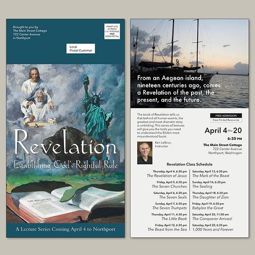 Revelation Seminar Advertising