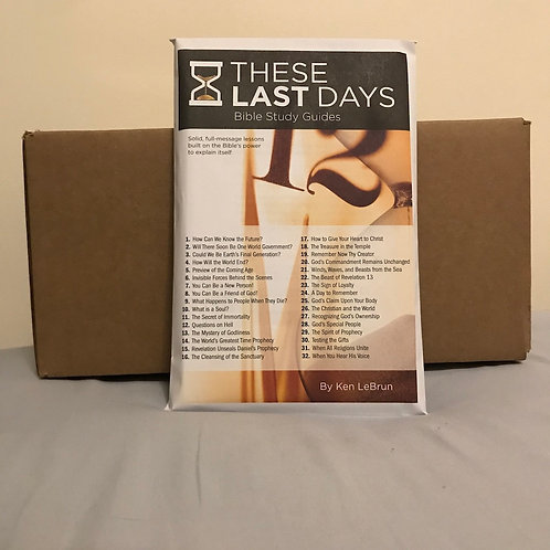 These Last Days Bible Study Guides Case of 24