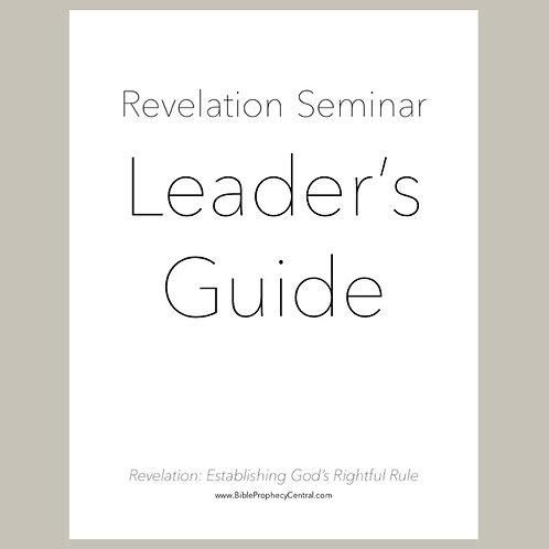 Revelation Seminar Leader's Guide