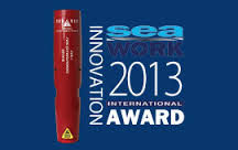 Sea Work innovation award logo