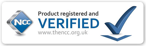 Product registered and verified by NCC