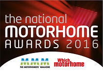 The national motorhome awards 2016 logo