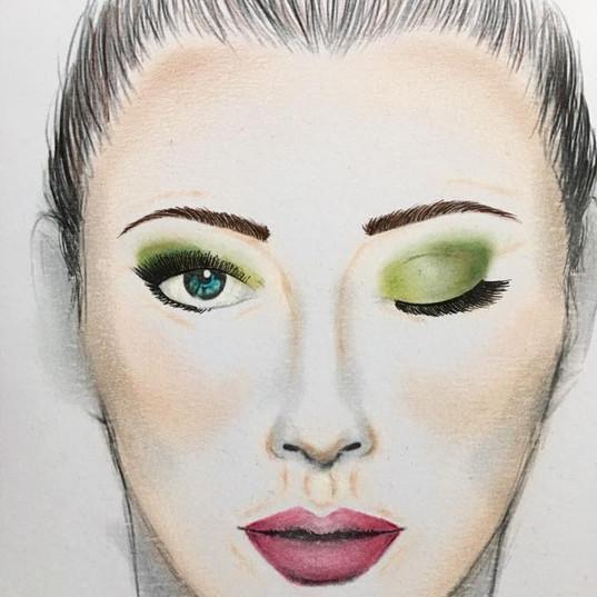 Make-up chart