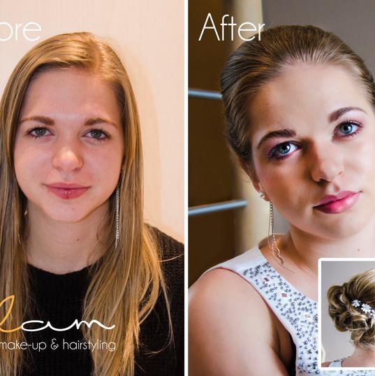 Make-over make-up & hairstyling