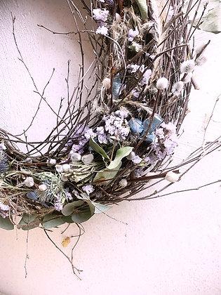 Nature Blush Kranz mit Palmkätzchen