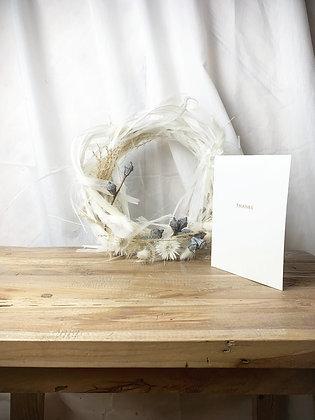 White Blush Minikranz