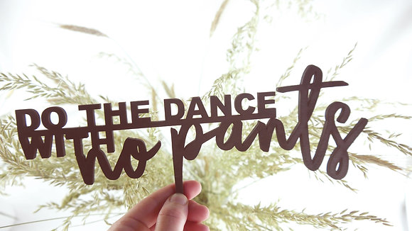 dance Lasercut