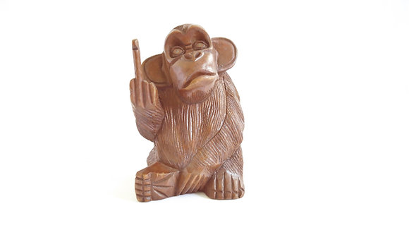 Affe Mittelfinger