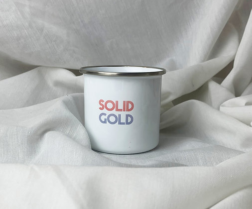 SOLID GOLD Tasse