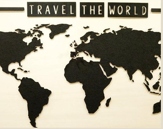 Weltkarte Pinnwand