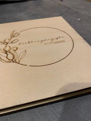 Kochbuch Einband DIY
