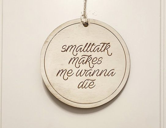 Smalltalk Schild