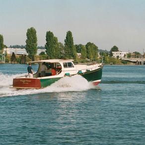 Maggie Brown 40' Yacht  Designed By Bill Garden