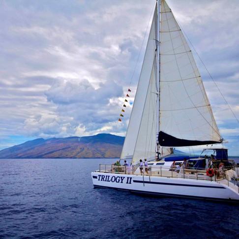 Trilogy II 64' Catamaran Charter Vessel Built For Trilogy Excursions, Maui