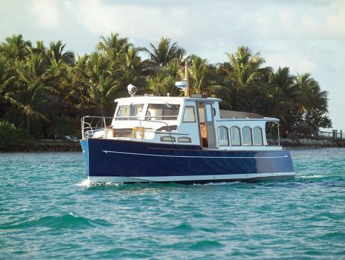 Woodson 40' Launch  Built For The Little Palm Island Resort And Spa In The Florida Keys