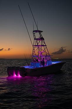Invincible - 37' Catamaran_Nighttime.jpg