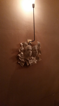 Light installation @Caffe' Novecento