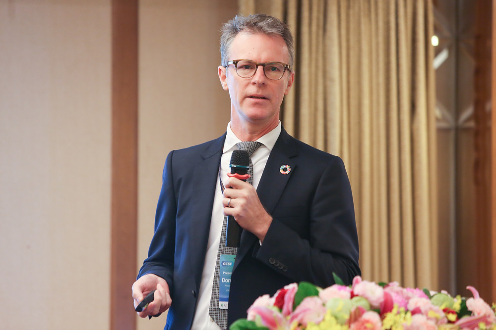RtA's Donald Eubank presents at the Global Corporate Sustainability Conference in Taipei