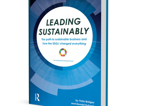 Release day for 'Leading Sustainably'