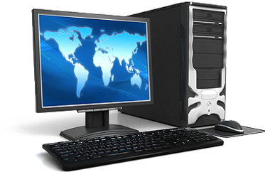 Monitor and Desktop, Houston Computer Repair Experts