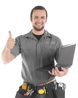 Technican on site, Houston Computer Repair Experts