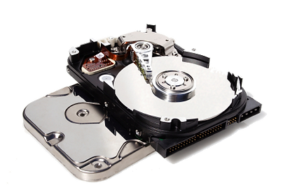 Open hard drive, Houston Computer Repair Experts