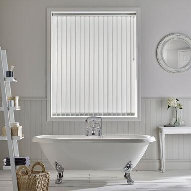 Ribbons asc White Bathroom Vertical Wand